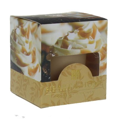 Caramel Cupcake Heart & Home Votive Candle